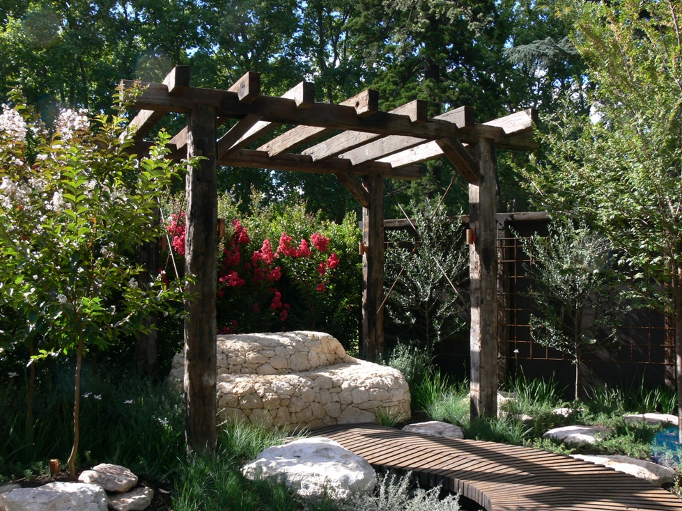 partners rustic structure garden feature difiore structures gallery